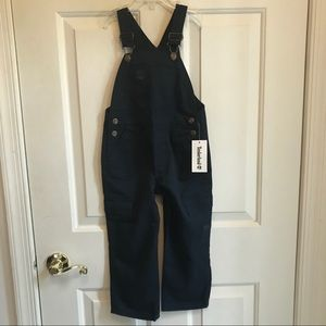 🕹Timberland boys size 4T blue overalls